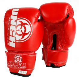4oz Kids Boxing Gloves Online Red