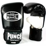 Style shot of Bag Buster Boxing Mitts in black