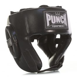 Punch Open Face Boxing Headgear V30 – Right Profile