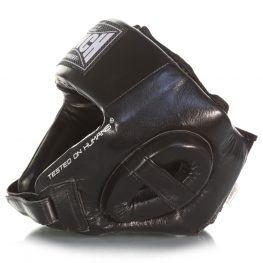 Punch Open Face Boxing Headgear V30 – Black