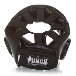 Punch Open Face Boxing Headgear V30 – Lace Top