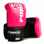 Pair of Urban Bag Mitts in pink and black