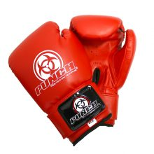 Red Urban Junior Boxing Gloves