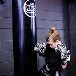 Action 6 Oz Boxing Gloves Black
