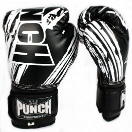 Punch Kids Boxing Glove Black 6oz 2020