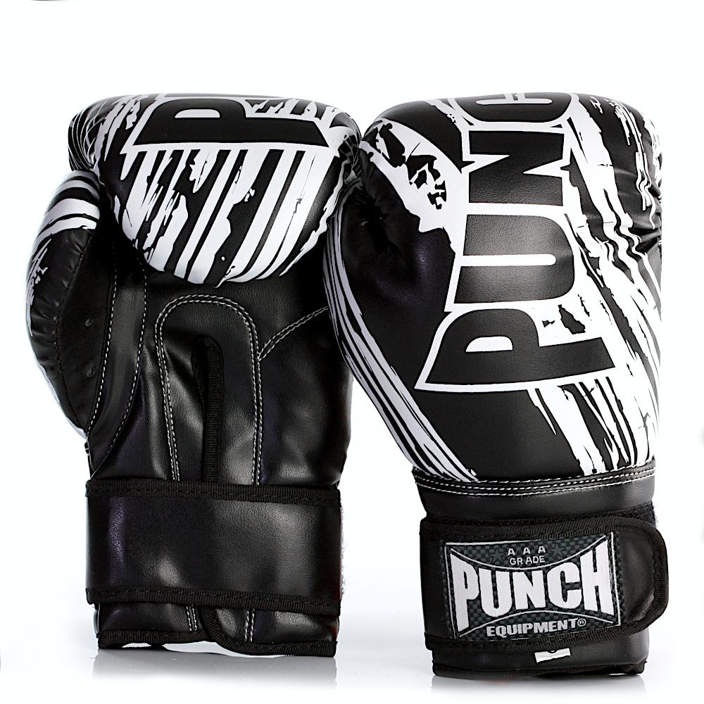 punch junior boxing glove black 6oz 2021