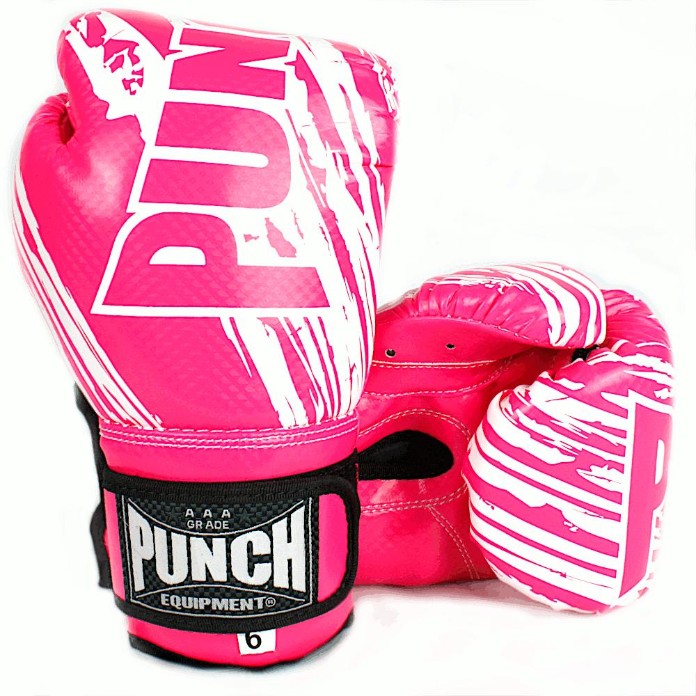 Punch Kids Boxing Glove Pink 6oz 2020 1