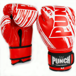 Punch Kids Boxing Glove Red 6oz 2020 1