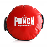 Punch Round Shield Red Boxing