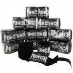 Punch Stretch Hand Wraps Pack Black