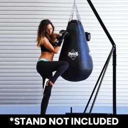 Black Diamond™ 4FT Tear Drop Boxing Bag