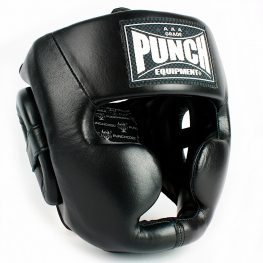 Trophy Getters Full Face Boxing Headgear Black 2020 3 1