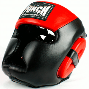 Trophy Getters Full Face Boxing Headgear Red 4