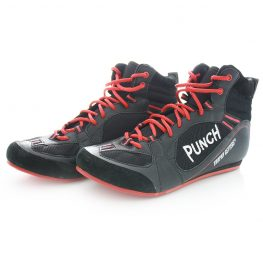 Boxing Shoes Red and Black