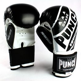 Pro Bag Busters Boxing Mitts Black White 2
