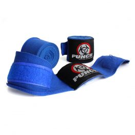 Blue Boxing Hand Wraps