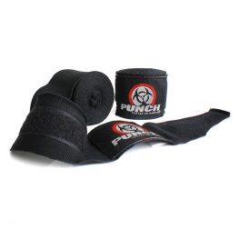 Boxing Hand Wraps Black Urban