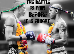 The battle is won before it is fought