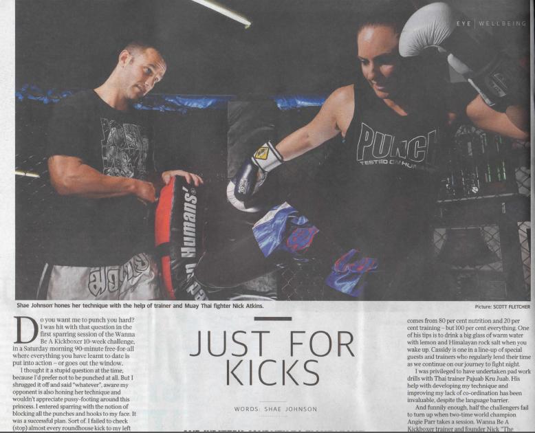 Wanna Be A Kickboxer Fight Night 2015
