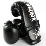 Bronx Black Gloves 1