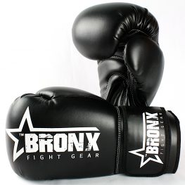 Bronx Black Gloves 3