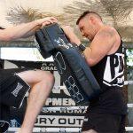 Punch Kickboxing Muay Thai Kick Shield