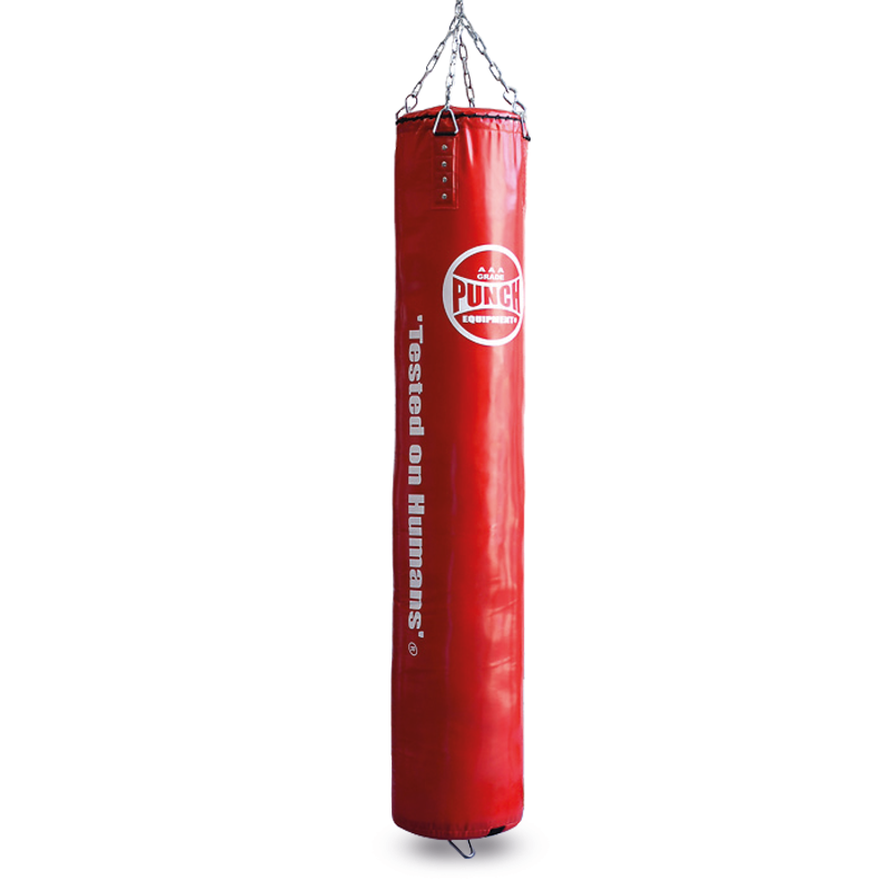 Red Boxing Punching Bag 6ft Trophy Getters No Stand