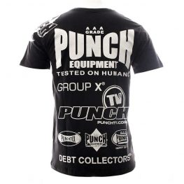 Mens Punch® Sponsorship T-Shirt – Black