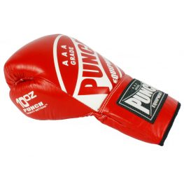 punch-red-lace-up-boxing-gloves-2
