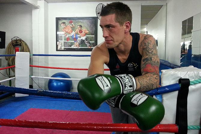 Jason Whateley Australian boxer