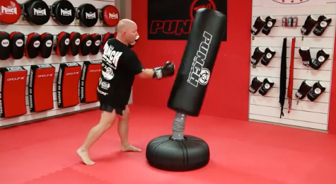 8 Step – Freestanding Punching Bag Workout