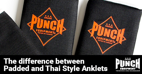 The difference between Padded and Thai Style Anklets
