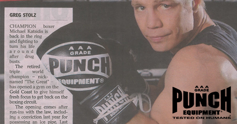 Punch Boxing Gloves Michael Katsidis