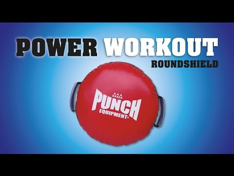 Round Shield Boxing Combinations