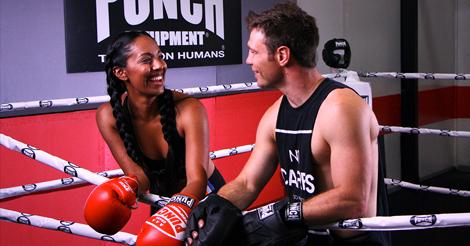 Yasmin Kassim Boxing