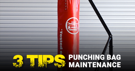 3 Tips: Punching Bag Maintenance