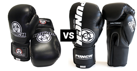 Urban vs Pro Urban Leather Boxing Gloves