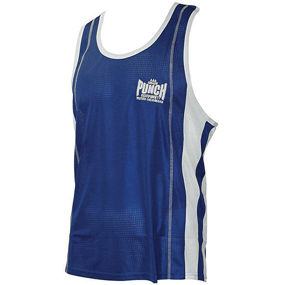 Punch Blue Comp Singlet