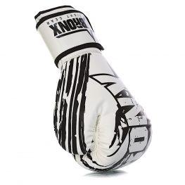 Bronx Endurance Bag & Boxing Gloves – White