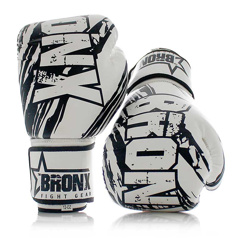 White Bronx Gloves