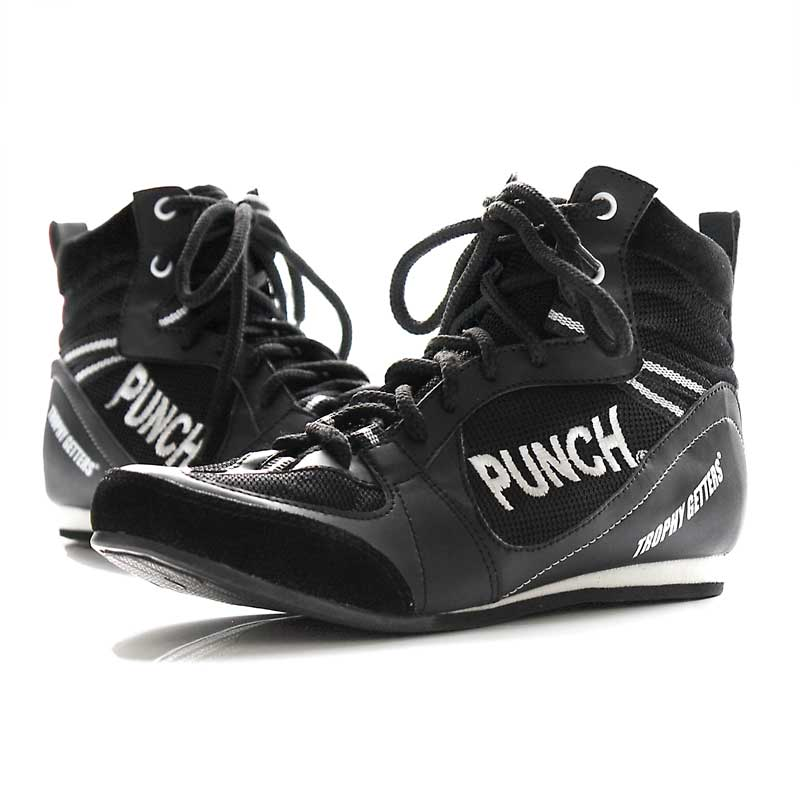 Black Boxing Boots