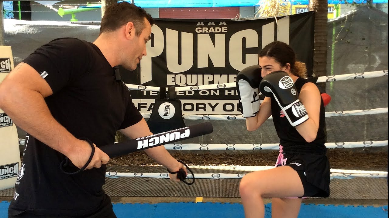 Jasmine Parr – Training with Punch® Coach Sticks