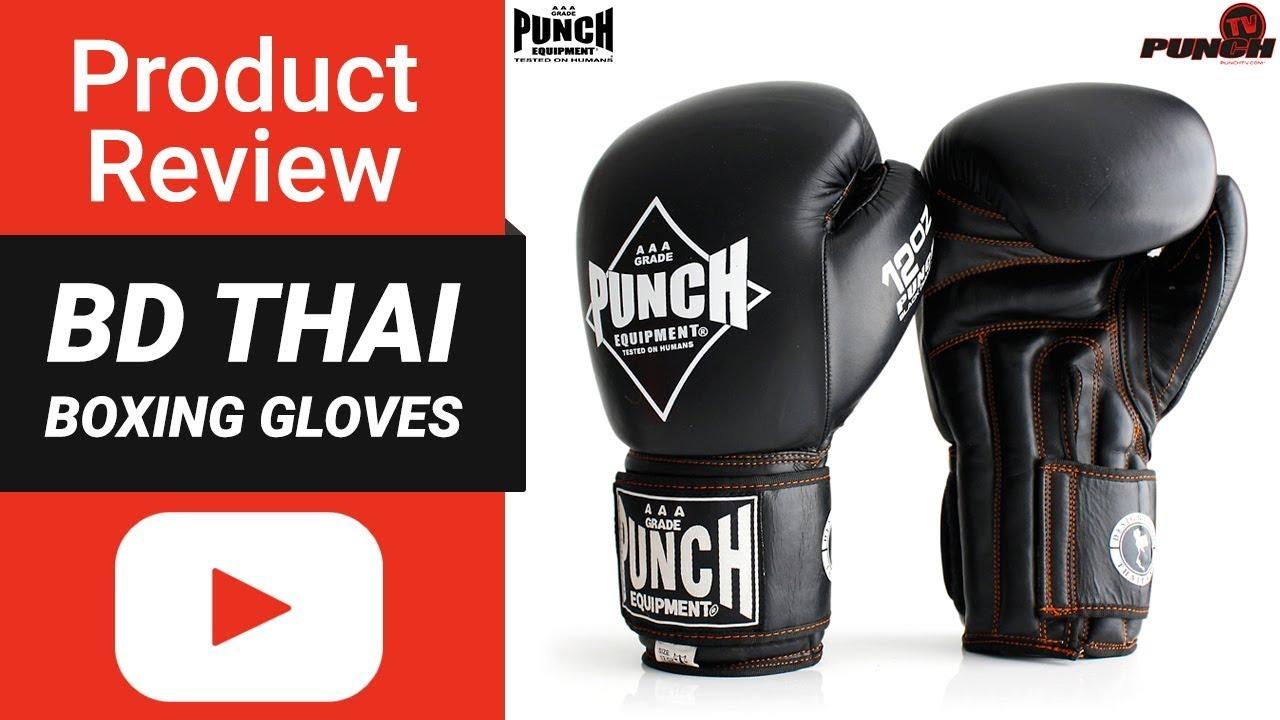 Muay Thai Gloves Review – Black Diamond Thai Gloves