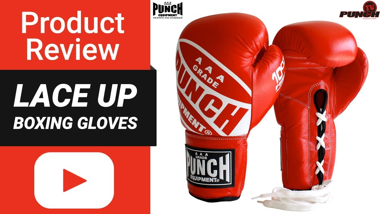 2017 Updated Product Review – Lace up Boxing Gloves