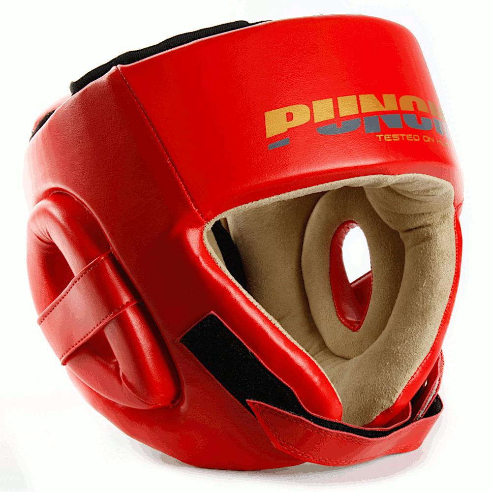 Red Urban Open Face Headgear 2020 1