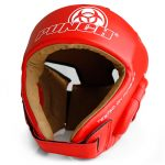 Red Urban Open Face Headgear W