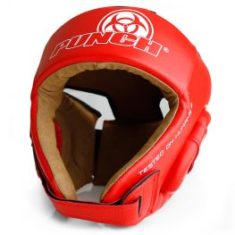 Red-Urban-Open-Face-Headgear-W