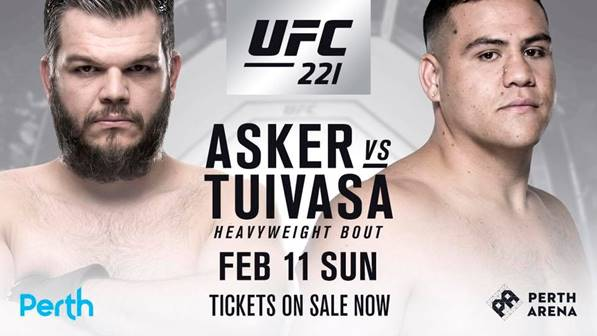 UFC 221 Asker vs Tuivasa