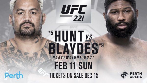 UFC 221 Hunt vs Blaydes