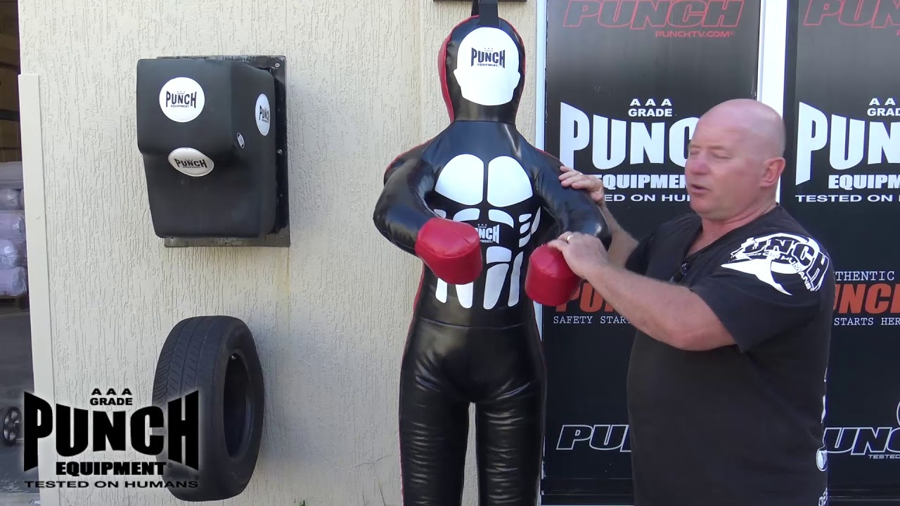 Punch® Grappling Dummy / Punching Bag Review